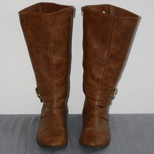 b30180e11cf Brash Shoes - Brash Tall Boots WIDE CALF! 9.5